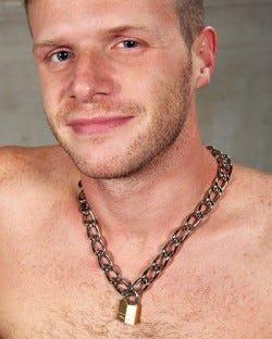 Heavy Chain & Lock Collar