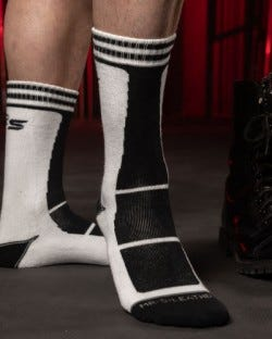 Field Socks White