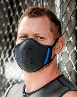 Neoprene Face Mask - Black/Blue