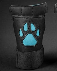 Open Paw Puppy Glove - Aqua
