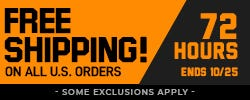 Free Shipping on Domestic Orders of $49